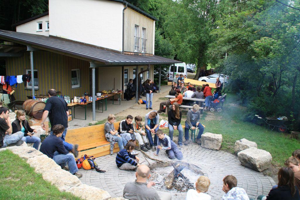Sommerfest der DAV-Jugend Sektion Ansbach